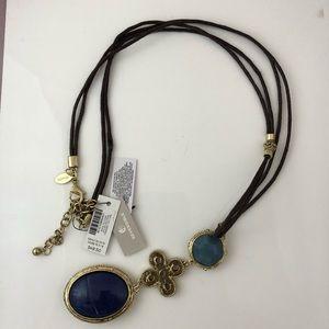 Chico's Reversible Long Pendant Necklace